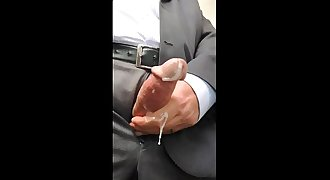 Daddy Closeup Cumshot Compilation in the Office