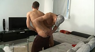 French Arab Daddy fucks his youthfull friend