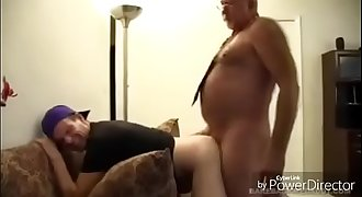 Older daddy fuck his youy nepew.MP4