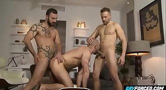 GayForced.com - Hard-core Anal Sharing Big Boyfriends at Home