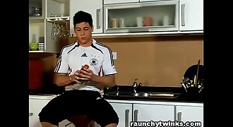 Hot Football Jock Strips And Masturbates 4 You