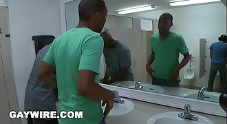 GAYWIRE - Urban Invasion Public Gay Sex in Bathroom (zc9092)