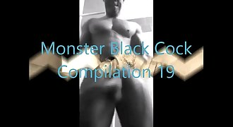 Monster Black Cock Compilation Nineteen by Copacabana