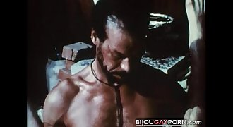 Scene from the Very first Gay Black Feature, MR. FOOTLONG'S ENCOUNTER (1973)