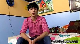 Youthful gay twinks love older dudes movieks Nineteen year old Ethan Fox